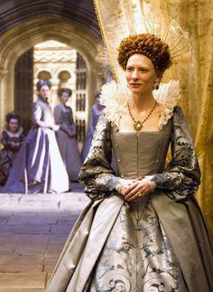 "the-garden-of-delights: "" Cate Blanchett as Queen Elizabeth I in Elizabeth: The Golden Age (2007). """