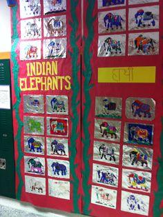Indian elephant craft