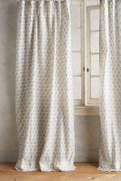 Embroidered Sari Silk Curtain