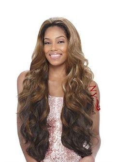 Vanessa Express Synthetic Half Wig - Las Bamby