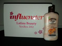 """""""Hawaiian Tropic Silk Hydration Lotion Sunscreen"""" Moisturize and protect your skin. The dual ribbon hydration formula Linkinfused with luxurious silk protein and rich Shea Butter provides continuous 12-hour moisture and board spectrum UVA and UVB protection that won't break sown in the summer sun. Available in SPF 12, 30, & 50. I received this product complimentary for testing and review purposes form @Influenster ; the Latina Beauty VoxBox2012!"""