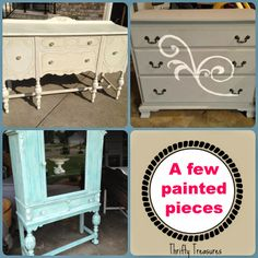 Thrifty Treasures: A few painted pieces