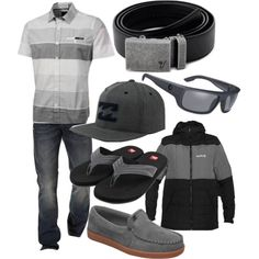"""The Iron Belt - Beach Gray"" by kristinmadsen on Polyvore"