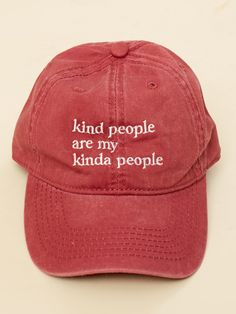 f359280c Altar'd State Kind People Baseball Hat - Hats - Accessories Cute Hats, Cute