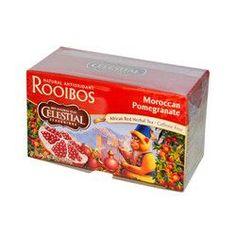 Celestial Seasonings Red Tea Caffeine Free Moroccan Pomegranate (6x20 Tea Bags)