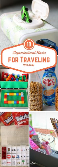 organizational hack for traveling with kids
