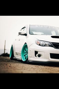 Subaru WRX STi Those wheels though