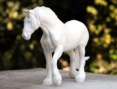 Horse Sculpture in Ceramic and Artist's Resin by Deborah McDermott Sculpted Horses