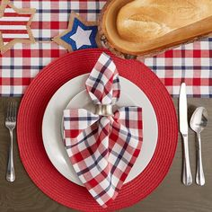 Cloth Napkins, Napkins Set, Fourth Of July Decor, July 4th, Catering Food Displays, Waste Paper, Dish Towels, Table Linens, Breakfast Nook