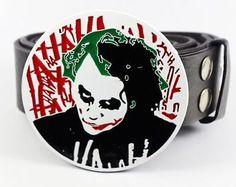 ☆ #joker #heath ledger batman dark knight rises belt buckle & free #snap-on bel,  View more on the LINK: http://www.zeppy.io/product/gb/2/251760240229/