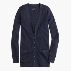 Shop the Perfect-Fit Mixed-Tape Cardigan Sweater at JCrew.com and see the entire selection of Women's Knits.