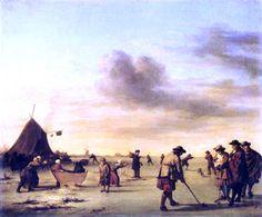 Esaias van de Velde - IJsvermaak (3)