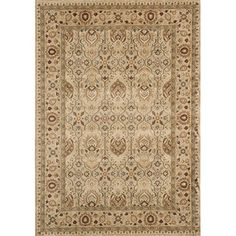 @Overstock - Inspired by Persian textiles and antique rugs, this Preston rug is power-loomed of polypropylene, with machine finishing. The gorgeous floral rug displays stunning hues of ivory, camel, gold, beige, brown, sage, olive and red.  http://www.overstock.com/Home-Garden/Power-Loomed-Preston-Garden-Ivory-Rug-53-x-76/5902907/product.html?CID=214117 $139.99