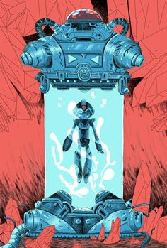 Zac Gorman. Video game inspired illustrations and... - Supersonic Electronic Art