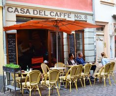 Best Cafes in Heidelberg: Casa del Caffe