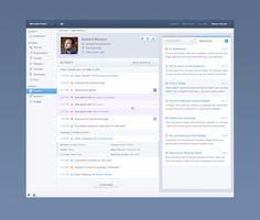 Activity Profile UI UX Design
