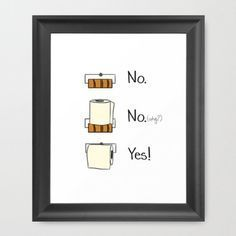 Add some fun humor to your bathroom walls with this free printable!