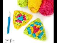Fiber Flux: How To Crochet A Granny Triangle