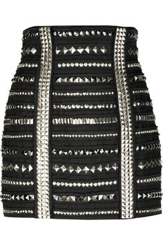 studded mini skirt. want want want!!!