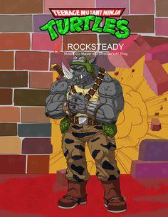 Bebop by on DeviantArt Ninja Turtles Art, Teenage Mutant Ninja Turtles, Bebop And Rocksteady, Joker And Harley Quinn, Animated Cartoons, Mermaid Art, Retro Toys, Anime, Film