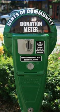 Lawrence, Kansas installed donation meters for the homeless to discourage panhandling! - Other - Interesting Facts and Fun Facts - OMG Facts