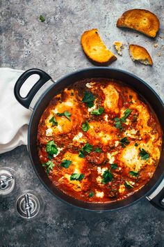 One-Pot Spicy Eggs and Potatoes