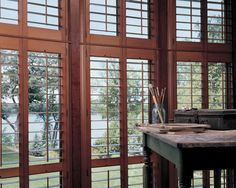 Nature's work of art, Heritance® Hardwood Shutters ♦ Hunter Douglas Window Treatments. Available through Ferris Blinds Shades & Shutters, Centreville, VA Custom Shutters, Custom Blinds, Interior Shutters, Wood Shutters, Hunter Douglas Shutters, Honeycomb Shades, Woven Wood Shades, Custom Window Treatments, Shades Blinds