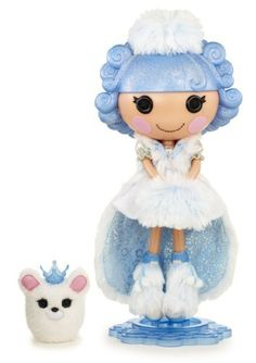 Lalaloopsy Collector Doll - Ivory Ice Crystals My mom got her this. Ice Crystals, Bratz Doll, Monster High Dolls, Cute Toys, Collector Dolls, Games For Girls, T 4, Doll Accessories, Alice In Wonderland