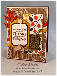 Pals Paper Crafting Picks of the Week Lighthearted Leaves2 Mary Fish Stampin Pretty StampinUp