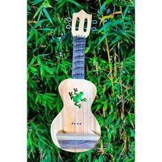 Custom succulent planter cut out like a ukulele and a green frog cutout! Aloha Fence Boards, Succulents, Succulent Planters, Green Frog, Wood Planters, Window Sill, Air Plants, Ukulele, Home And Garden