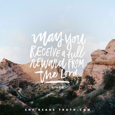 #SheReadsTruth Your small and steady acts of faithfulness are being used in big and beautiful ways in the kingdom of God.