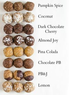 Healthy Energy Bites You Can Make at Home! 8 perfect Energy Bites Recipes all in one post! The PB&J is my perfect Energy Bites Recipes all in one post! The PB&J is my favorite! Weight Watcher Desserts, Peanut Butter Energy Bites, Peanut Butter Power Balls, Almond Butter Snacks, Snacks Saludables, Lactation Recipes, Lactation Balls Recipe, Lactation Foods, Healthy Lactation Cookies