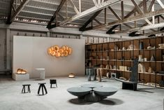 EWE Studio turns dance hall into its showroom in Mexico City
