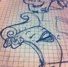 #sketch #illustration #draw #illustration #beauty