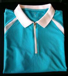 6422f4617081 Details about IZOD Knit Golf Tennis Cotton Sleeveless Plaid Collar Women s  Polo Shirt Top  34