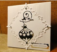 Merry Christmas Ornament by jasonw1 - Cards and Paper Crafts at Splitcoaststampers