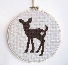 cross stitch deer - Google-søgning