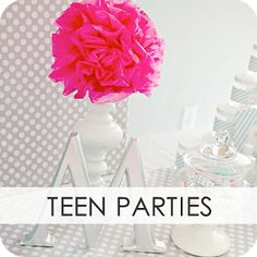 all different party ideas, not just teens!