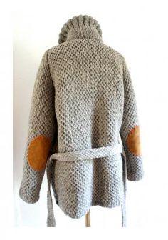 Grey Wool Heritage Roll Neck Sweater