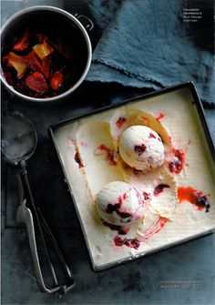 Ice Cream - Beautiful styling by Emma Knowles and photography by Ben Dearnley