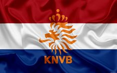 Download wallpapers Netherlands national football team, emblem, logo, football federation, flag, Europe, flag of the Netherlands, football, World Cup