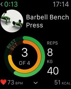 Gymaholic Apple Watch App