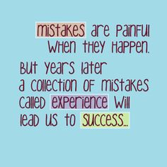 Positive Inspirational Quotes: MISTAKES