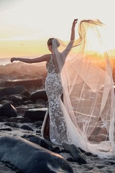 Wild in Bloom — Alena Leena Wedding Dress With Veil, Wedding Gowns, Wedding Shoes, White Bridal, Boho Bride, Lace Bodice, Beaded Lace, Bridal Looks, Bridal Dresses