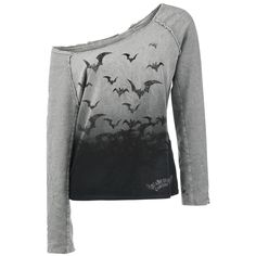 Alchemy England  Sweatshirt  »Bats Attack« | Buy now at EMP | More Rock wear  Sweatshirts  available online ✓ Unbeatable prices!