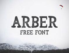 Stylish Arber Brush Feel Font