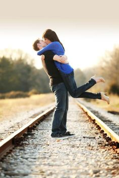 this pose- not location. i loathe train track shots