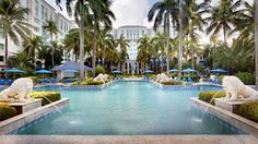 The Ritz-Carlton, San Juan  - Relax poolside on a lounge chair or in a private pavilion at The Ritz-Carlton, San Juan.