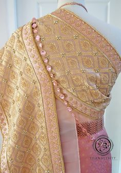 Beaded Embroidery, Hand Embroidery, Thai Pattern, Thai Dress, Traditional Wedding Dresses, Sash, Asian Outfit, Glass Beads, Knitting Patterns