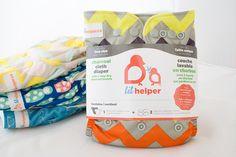 Charcoal Cloth Diaper